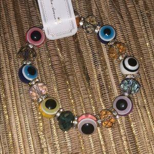 New ! Cute evil eye stretch bracelet..